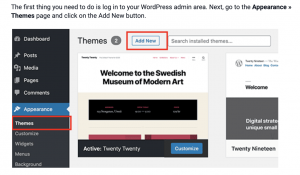 how to make a website, how to use wordpress to make a website